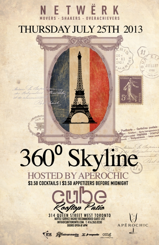 CUBE NETWERK THURSDAYS 360 Skyline JULY 25