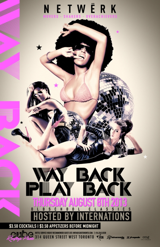 JOIN OMG as we host WAY BACK PLAY BACK! THIS THURSDAY at CUBE ROOFTOP RSVP for Guestlist and reservations info@odielu.com