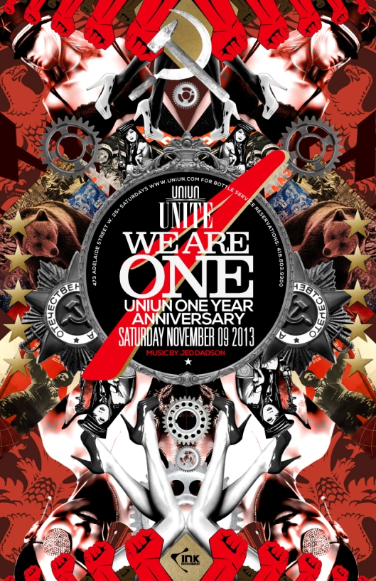 WE ARE ONE YEAR ANNIVERSARY SATURDAY NOVEMBER 9th