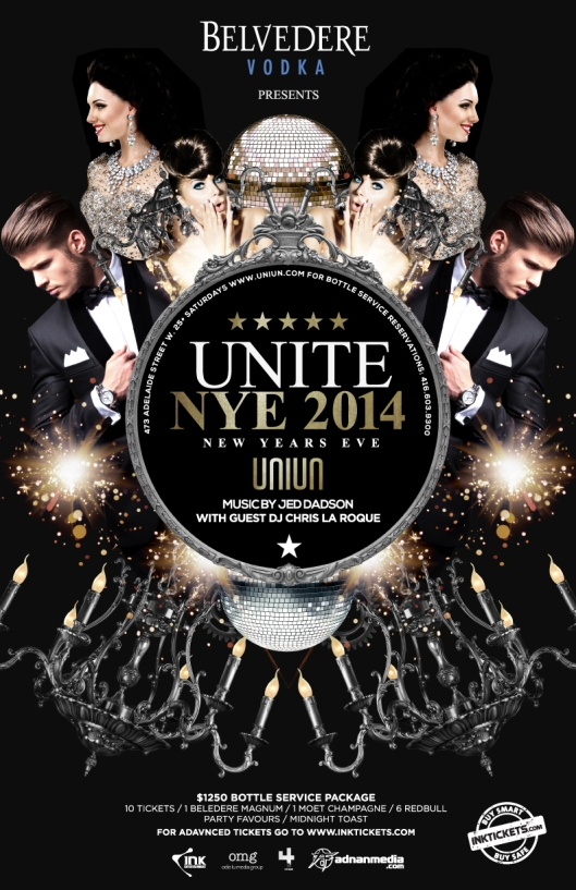 NEW YEAR's Eve UNIUN NIGHTCLUB