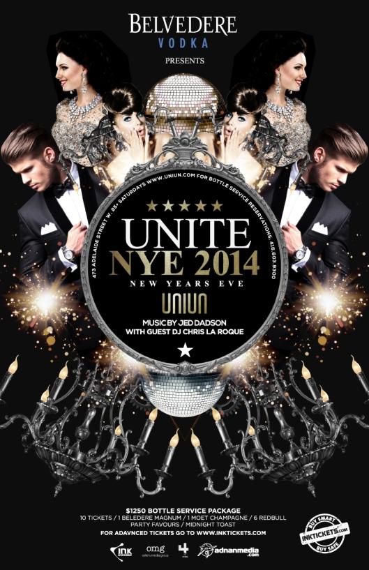 NEW YEAR's Eve UNIUN NIGHTCLUB