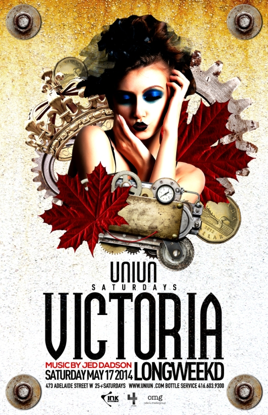 Victoria Day Long Weekend Sat May 17th @UNIUN